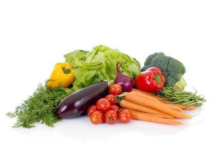 Verduras frescas ricas en Vitaminas