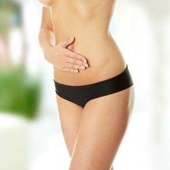 Piel abdominal