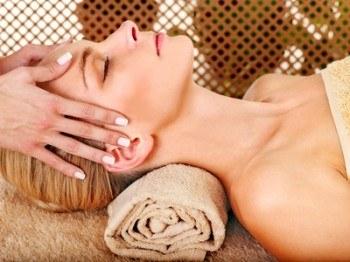 Masaje facial y craneal