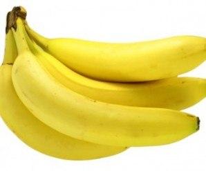 La banana, una fruta recomendada