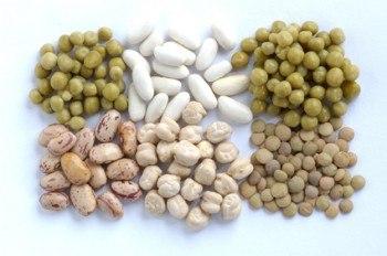 Legumbres ricas en proteínas